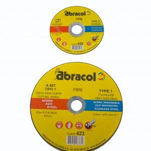Disco de corte metal Abracol para pulidora