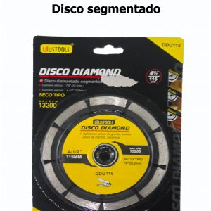 Disco pulidora segmentado (corte concreto)